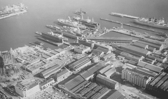 Pier 70 aerial view