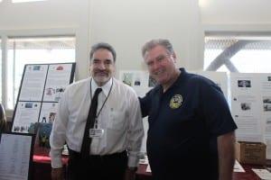 Chairman Bill Perez with Mike Villegiante of ILWU Local 10