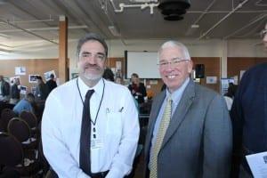 Chairman Bill Perez with CAPT Gerard Roncolato
